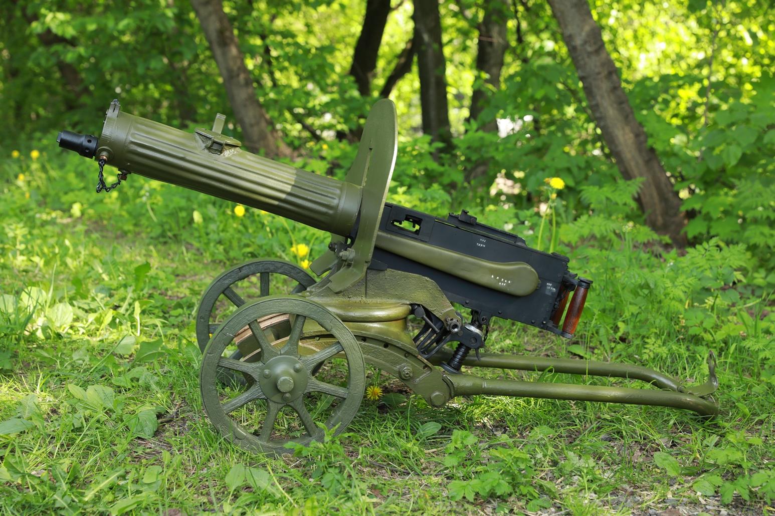 Пулемет Максим 1944 года №БЛ706, ранний станок