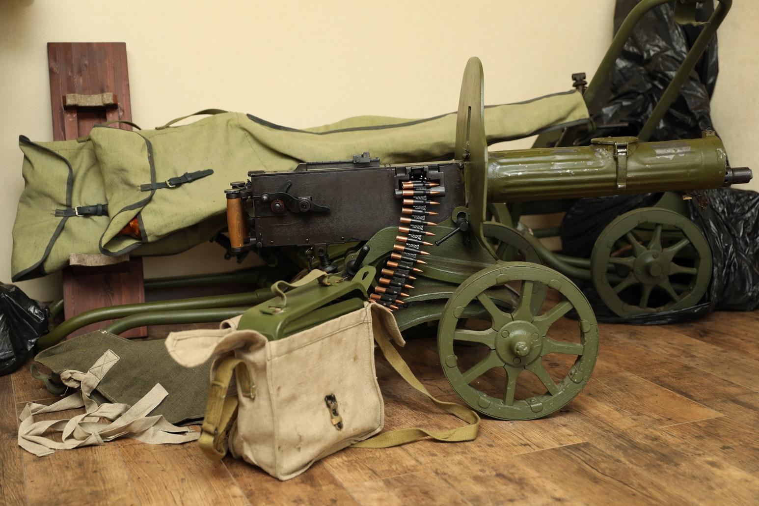 Охолощенный пулемет Максим 1944 года, №ЛП533
