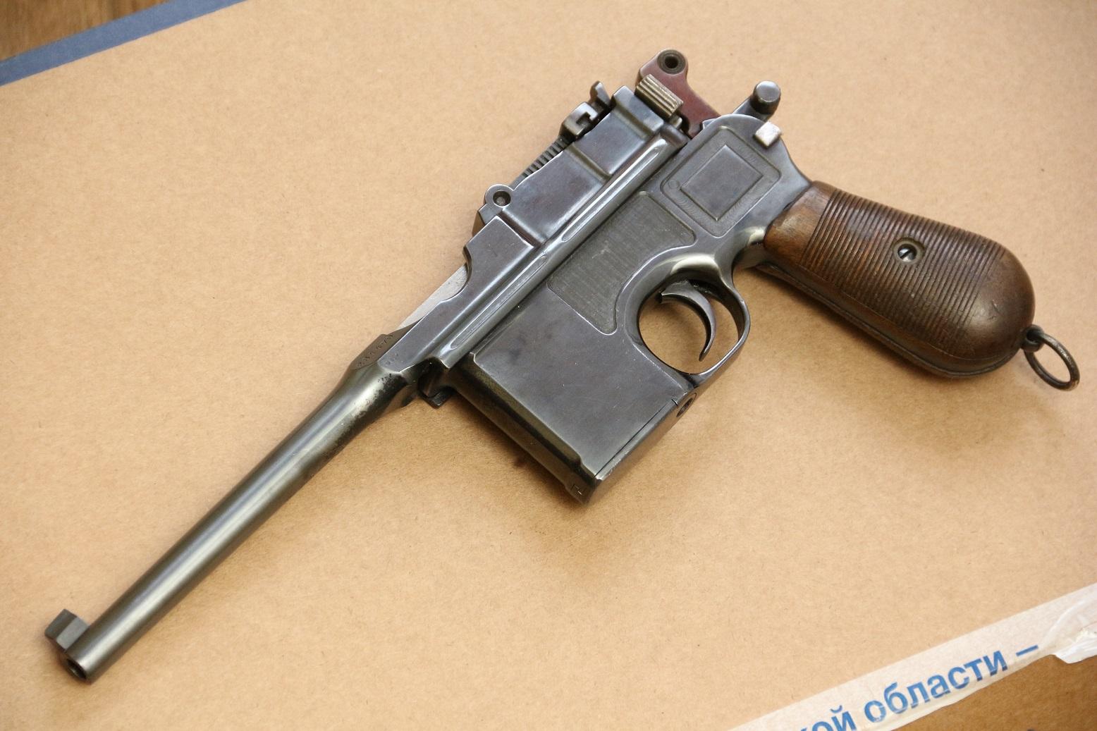 Маузер С96 #284470, военный коммерческий заказ, 1913 год