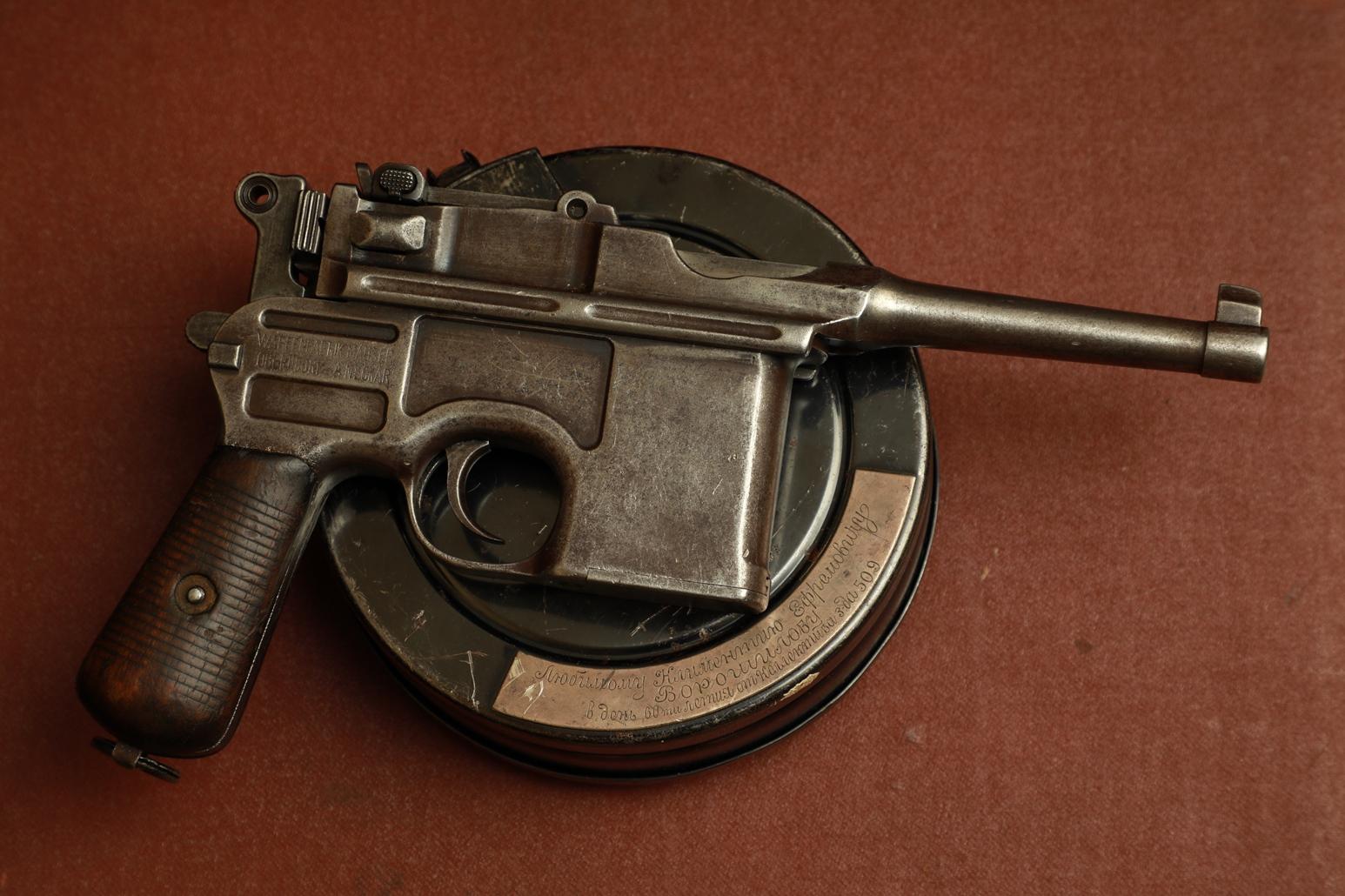 Пистолет Mauser C96 Bolo #483497