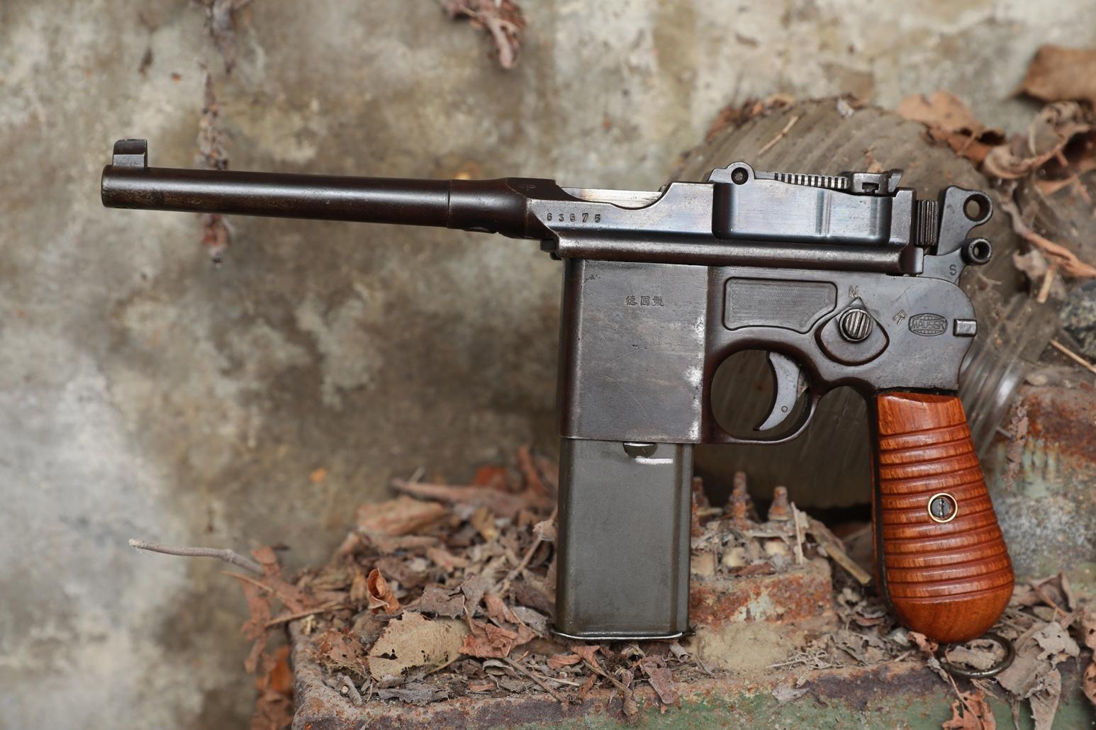 Фото Mauser M712 Shnellfeuer, №63675, китайский заказ