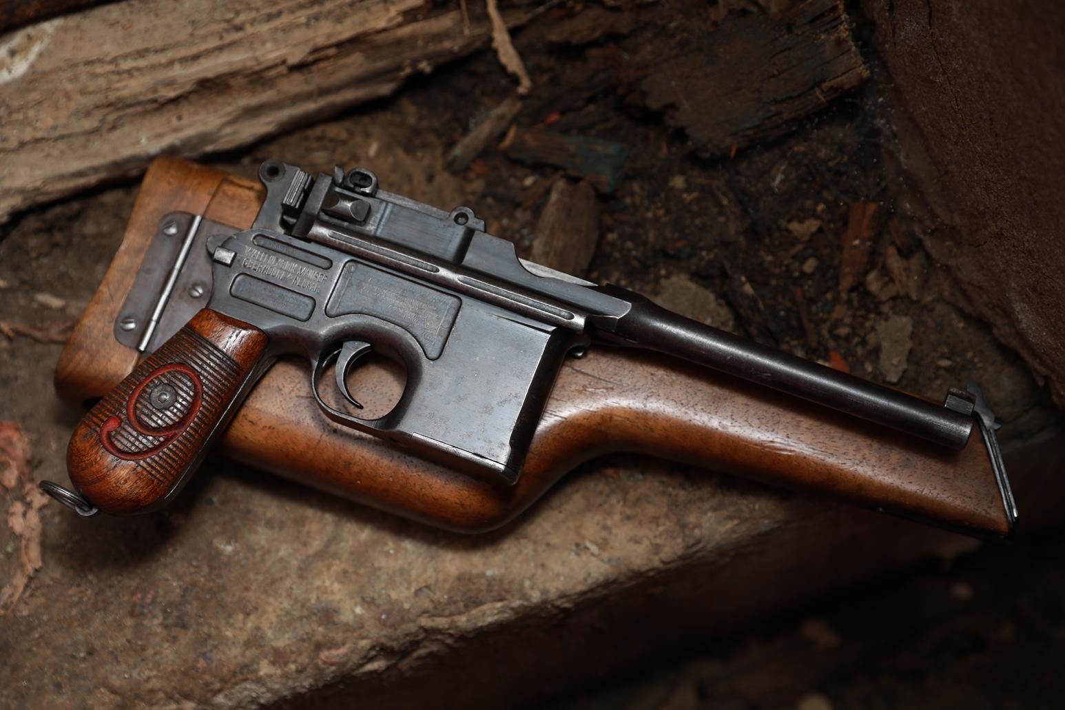 Mauser C96 Красная девятка, №114965