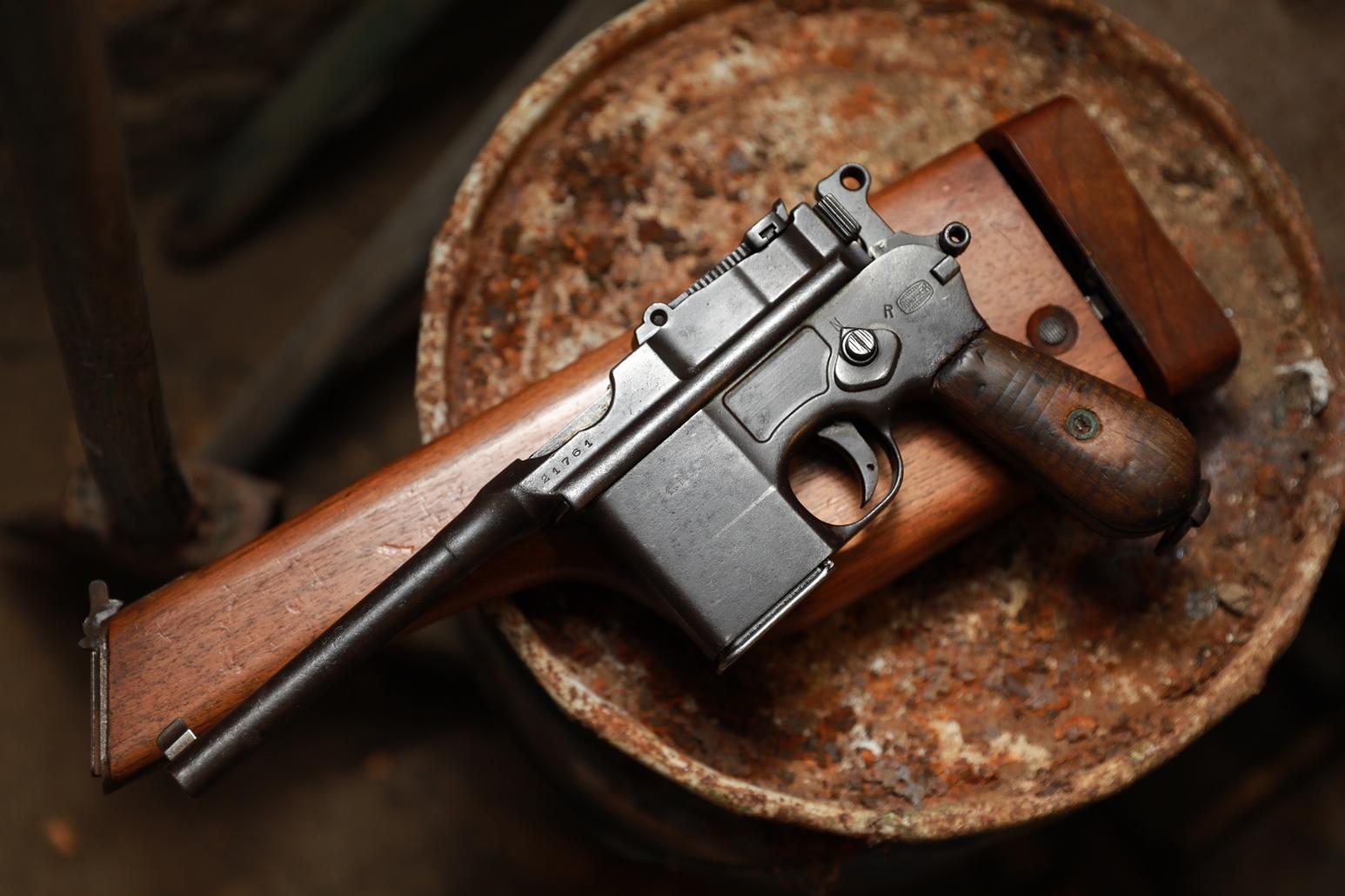 Фото Пистолет Mauser M712 Shnellfeuer #21761