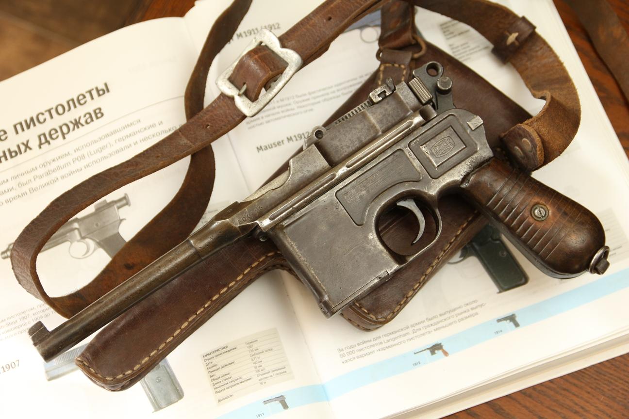 Фото Mauser C96 модель М30, №800495