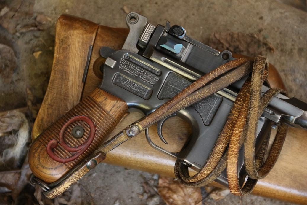Пистолет Mauser C96 Красная Девятка №112716