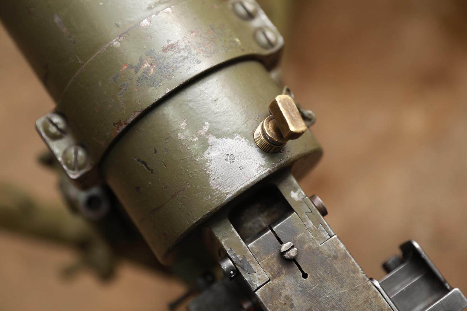 Фото Охолощенный финский пулемет Maxim M/32-33, #1609