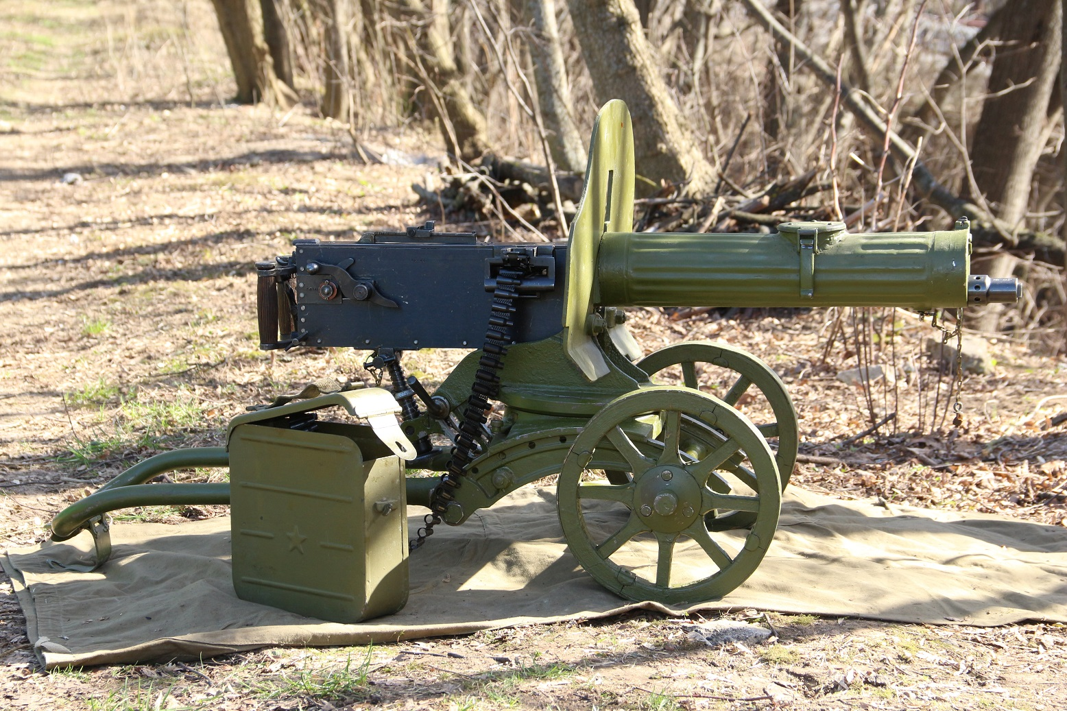 Пулемет Максим 1944 года, №ЖЛ941