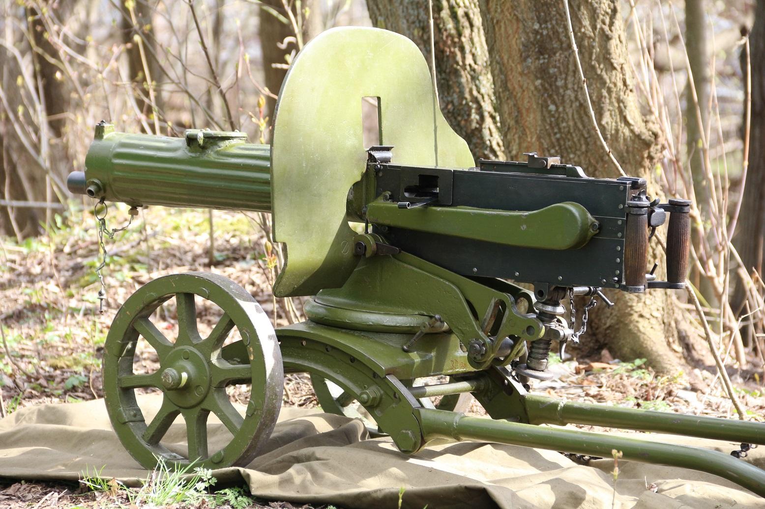 Пулемет Максим 1944 года, №ИО427