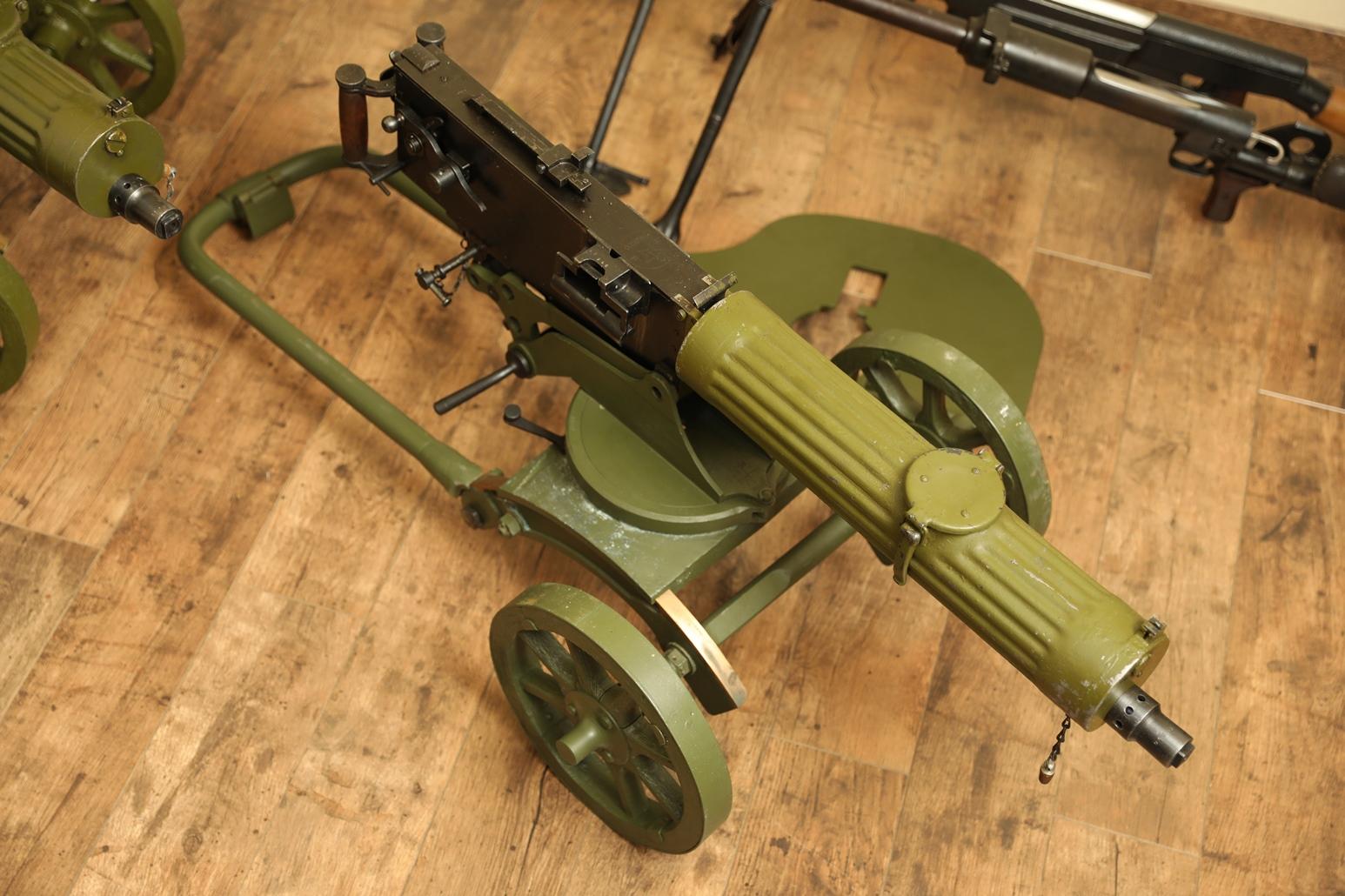 Охолощенный пулемет Максим 1944 года, №ЦВ200