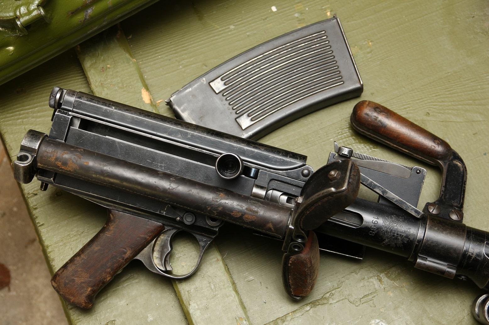 Немецкий пулемет MG13 Dreyse, 1938 год, №C-336, военная приемка WaA4