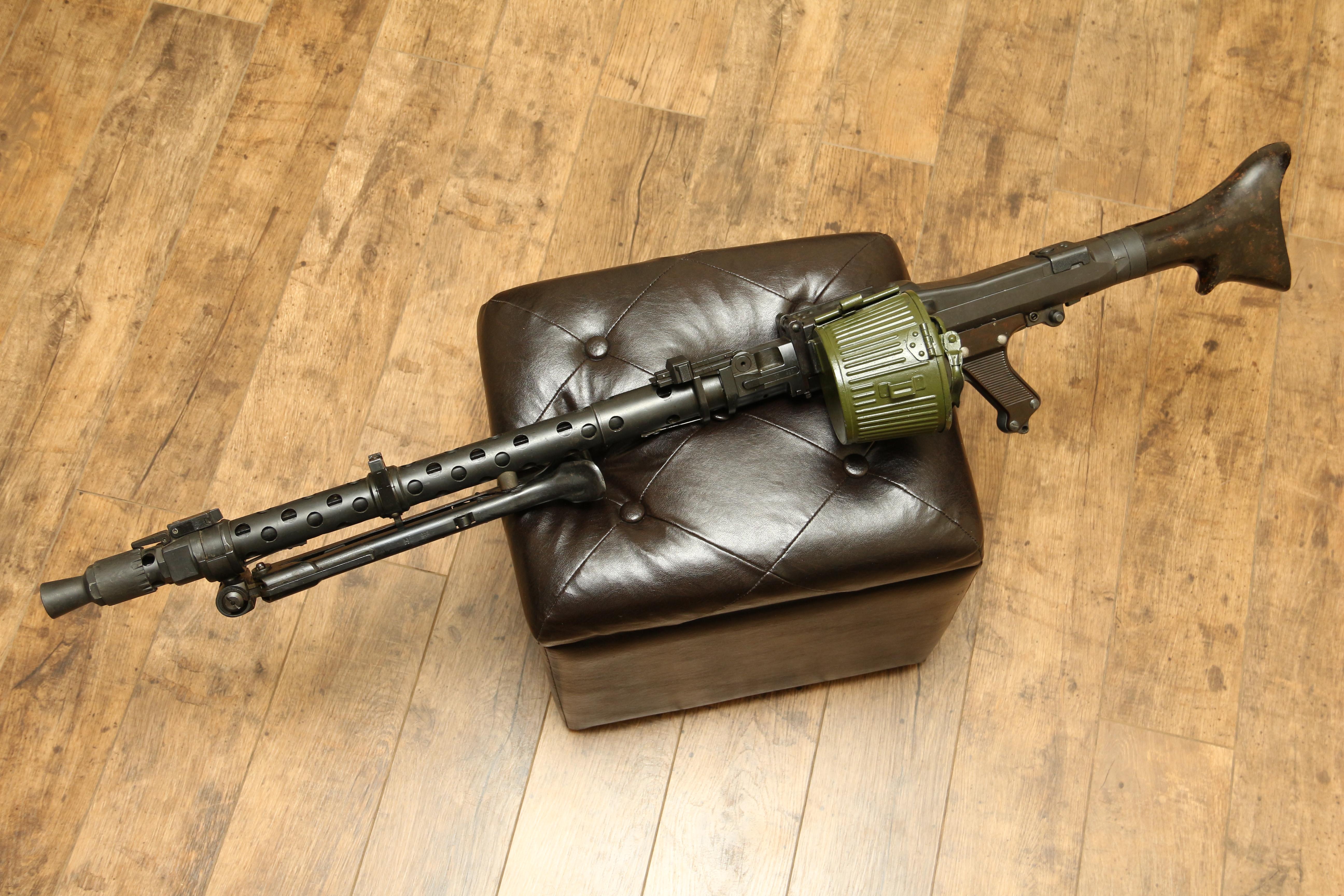 Немецкий пулемет MG-34, #4568, 1942 год, dfb Gustloff-Werke (Suhl)