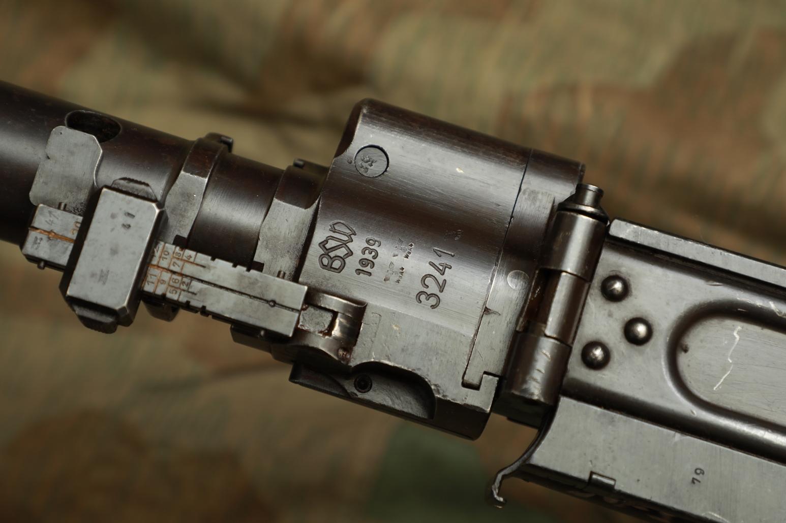 Фото Немецкий пулемет MG.34 1939 год №3241, завод BSW