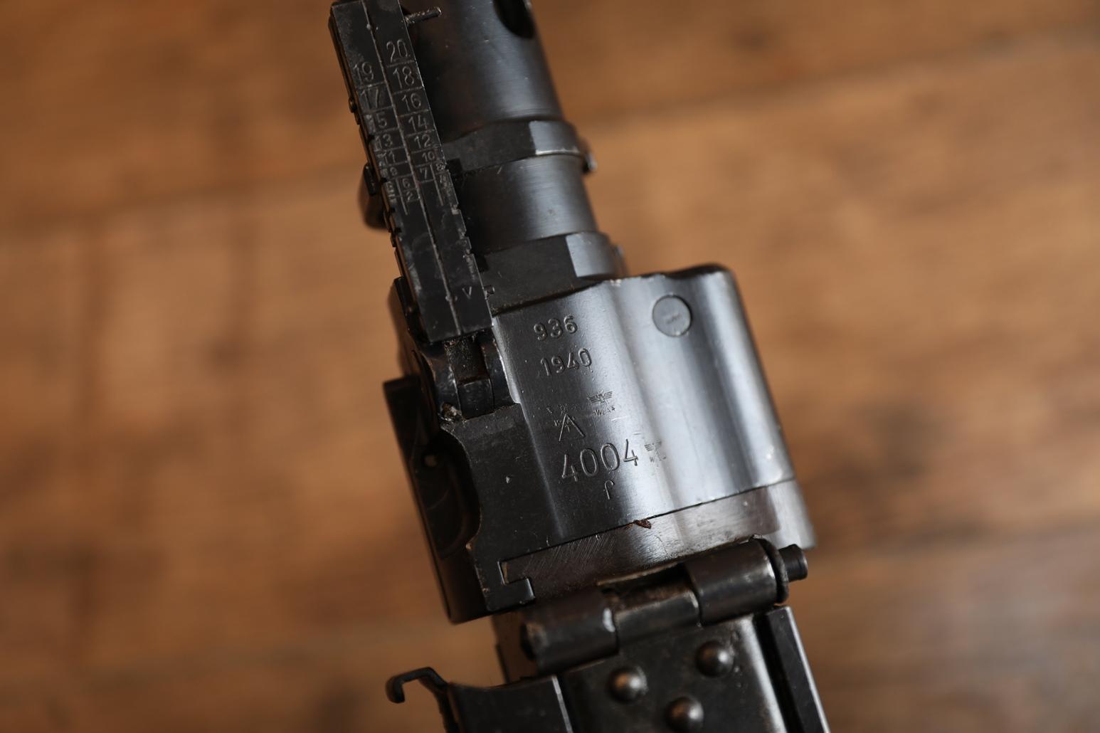 Фото Немецкий пулемет MG-34, #4004f, 1940 год, завод 936 Berlin Suhler Waffenfabrik