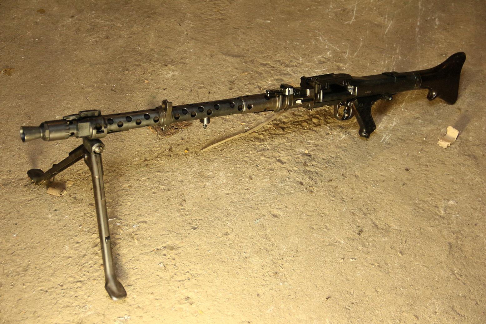 Немецкий пулемет MG-34, #5764a, 1943 год, dot Waffenwerke Bruenn AG, Brno, Czechoslovakia