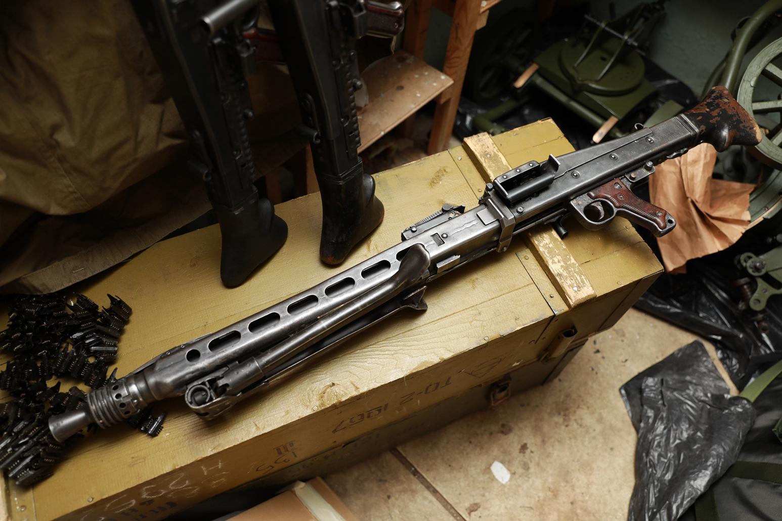 Югославский пулемет М-53 (MG-42) №44478