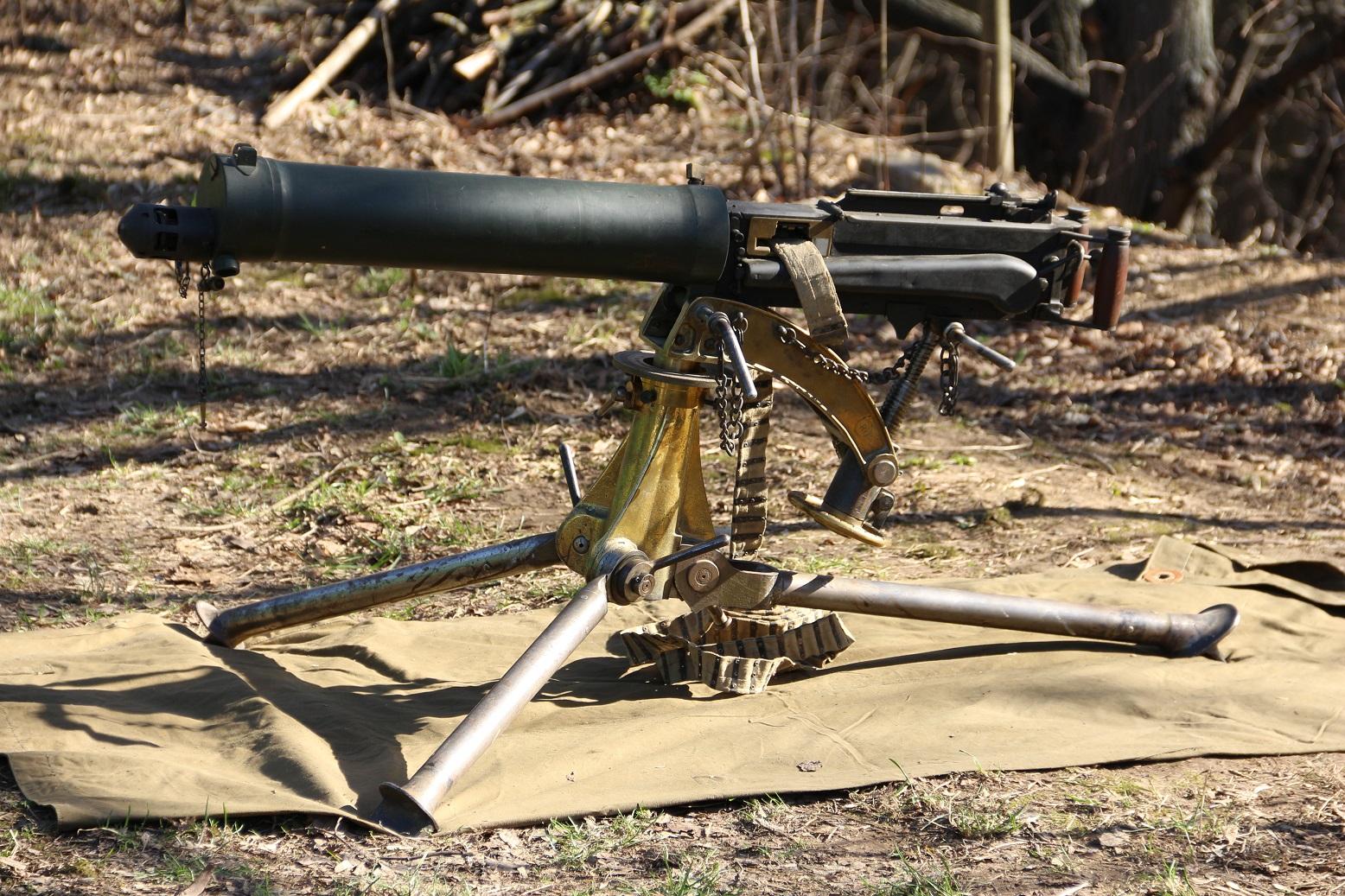 Фото Пулемет Vickers Mk. I калибра .303 #8023, образца 1912 года