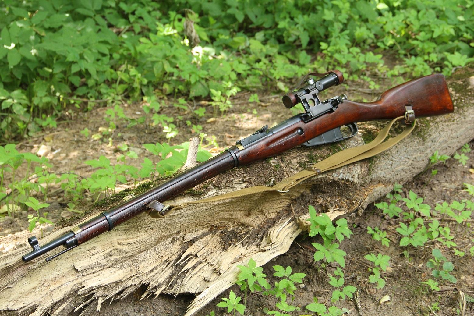 Фото Охолощенная винтовка Мосина СВМ 1944 года, №ЛБ6247