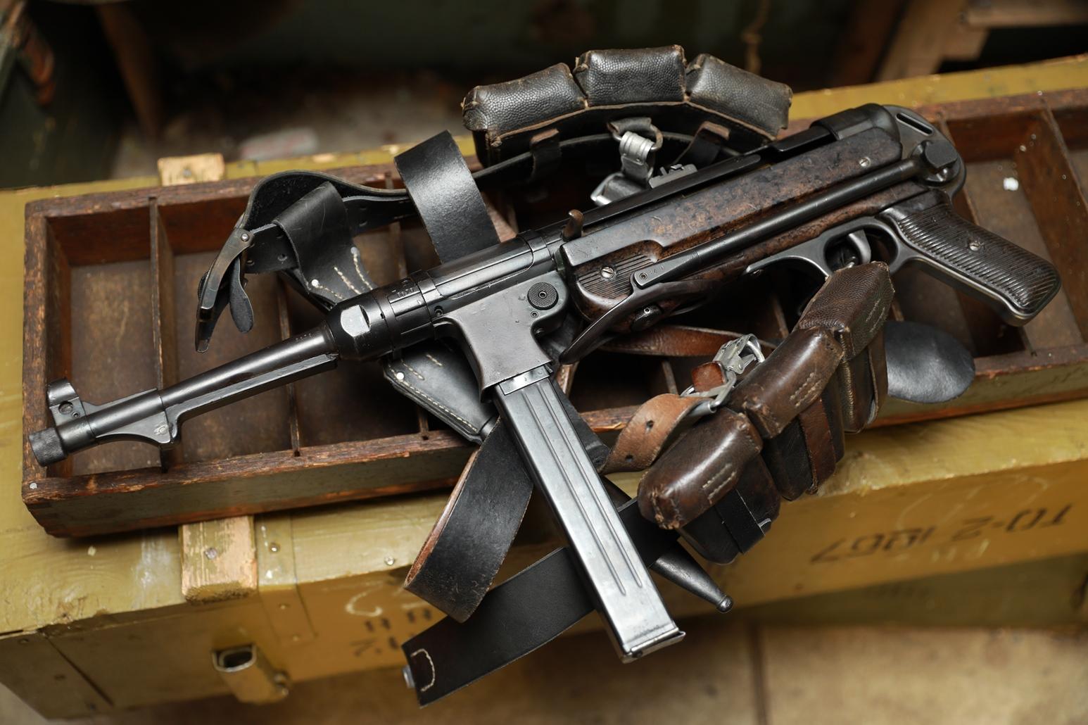 Немецкий пистолет-пулемет M.P. 40 bnz 1942 год #5678