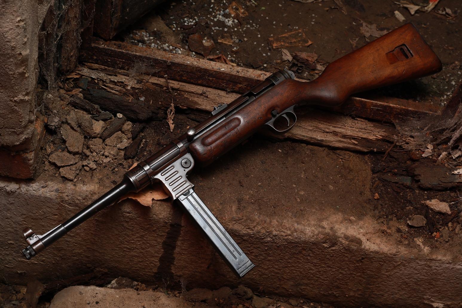 Охолощенный немецкий пистолет-пулемет M.P. 41 №21593
