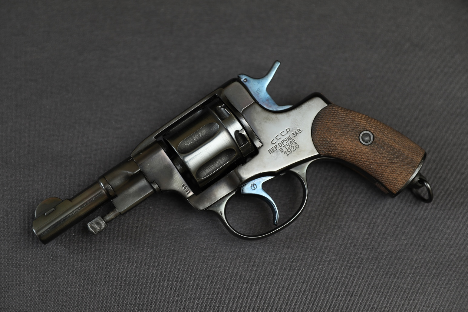 Фото Командирский револьвер Наган 1926 года, №1666, копия