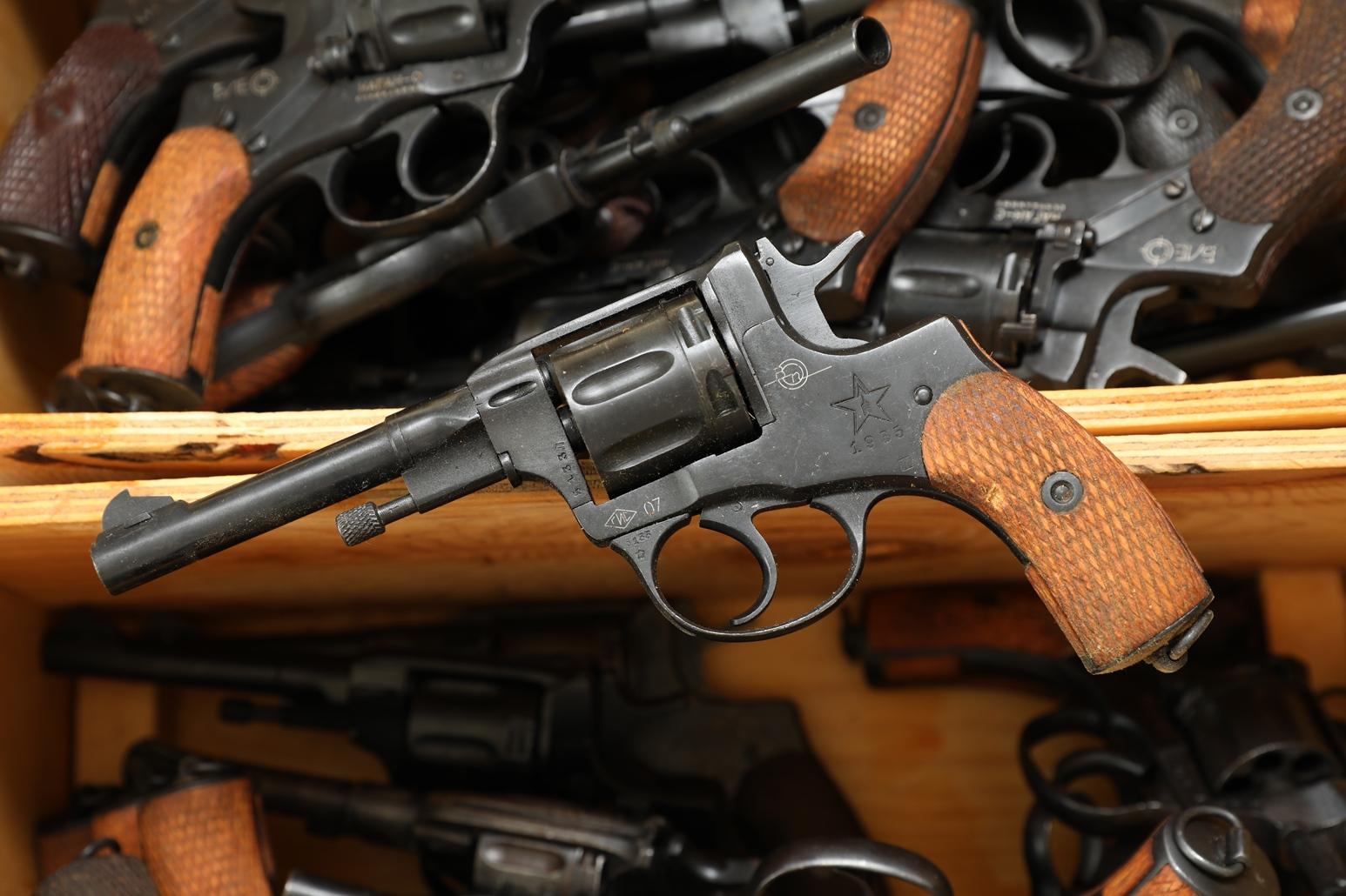 Фото Сигнальный револьвер Наган Блеф 1935 года №5133