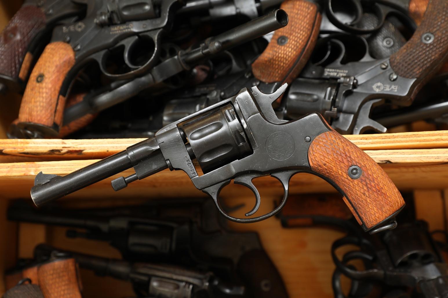 Фото Сигнальный револьвер Наган Р-2 «НАГРАДНОЙ» №32673
