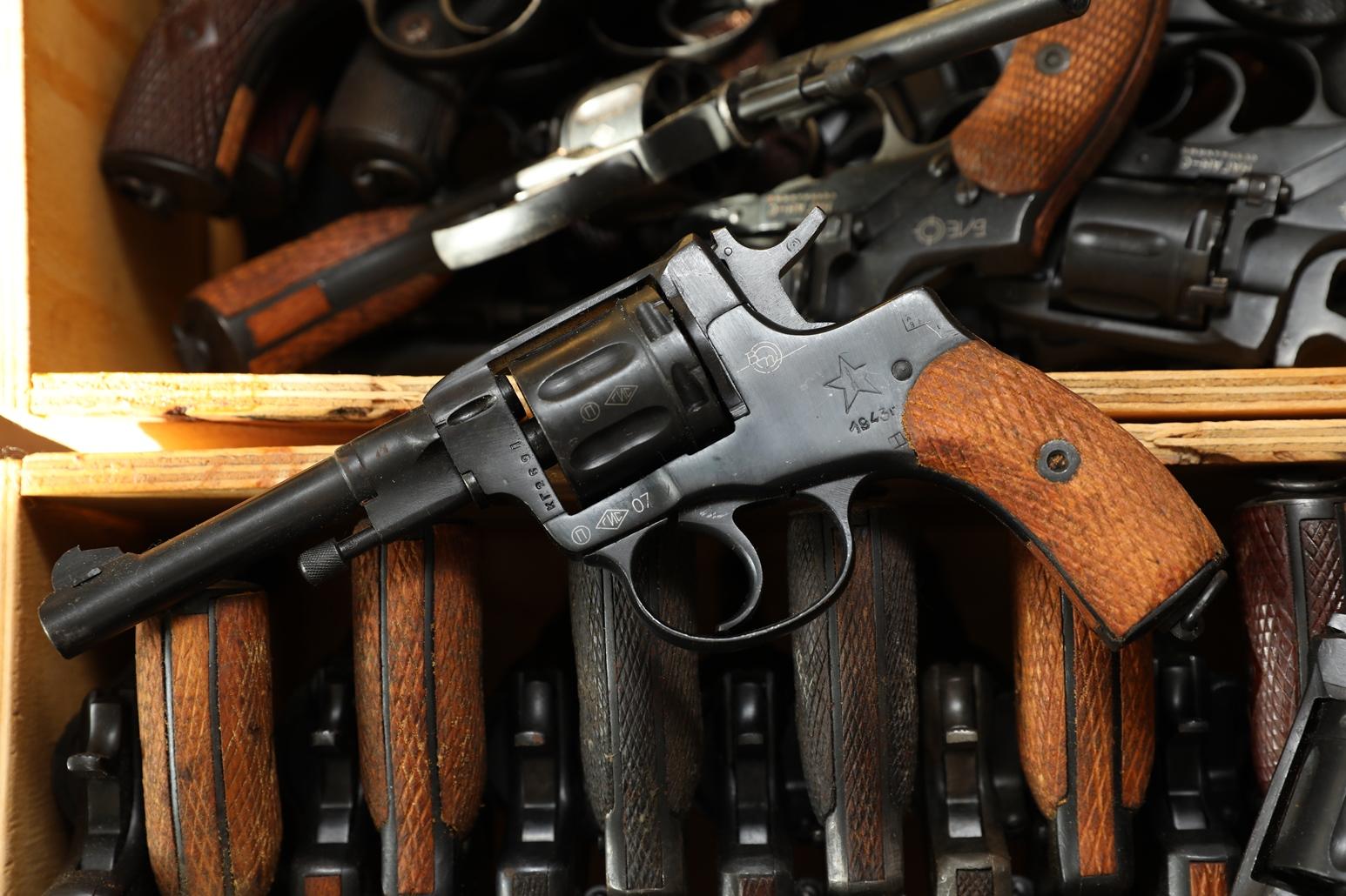 Фото Сигнальный револьвер Наган Блеф 1943 года №КГ269
