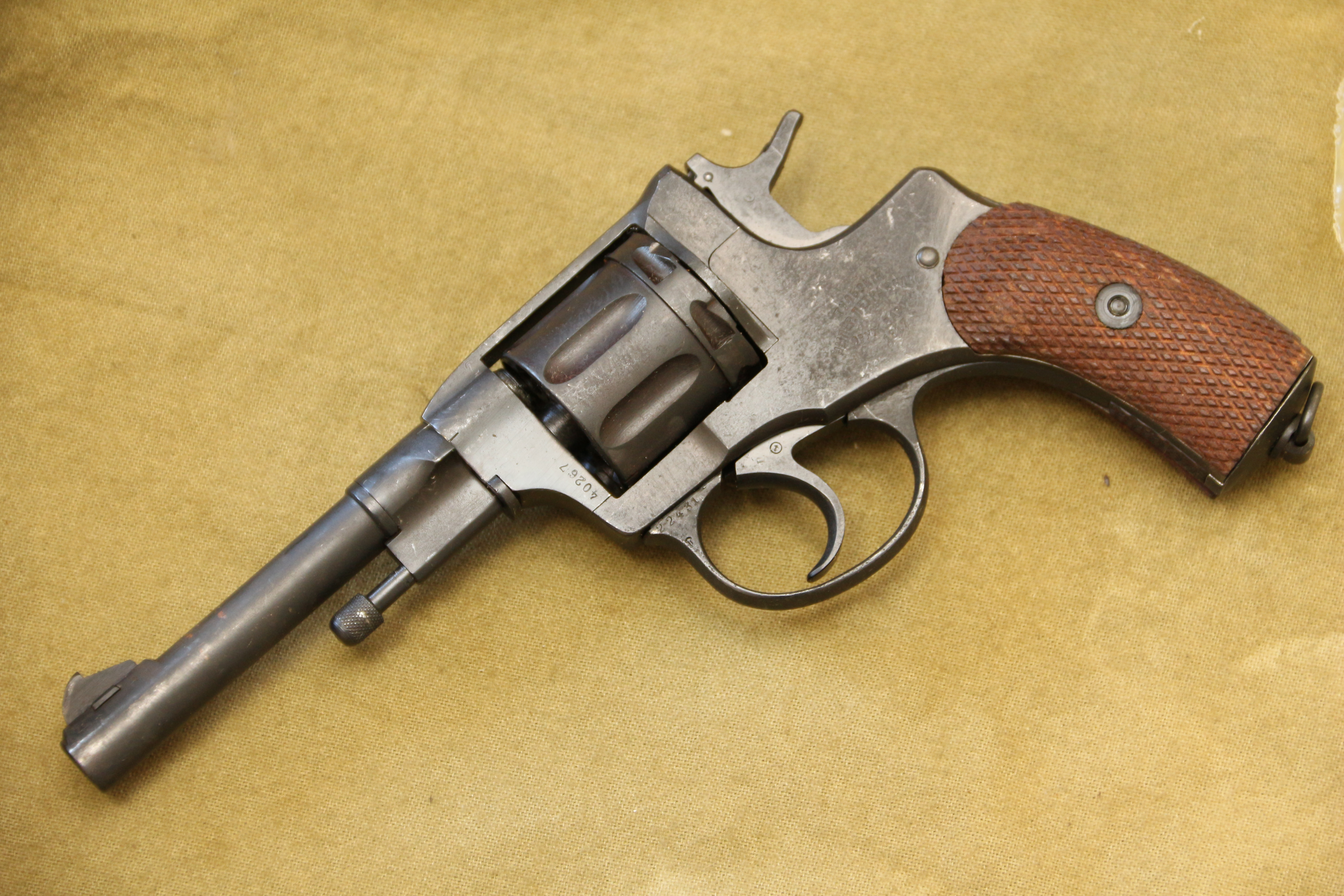 Фото Царский револьвер Наган 1917 года №40267