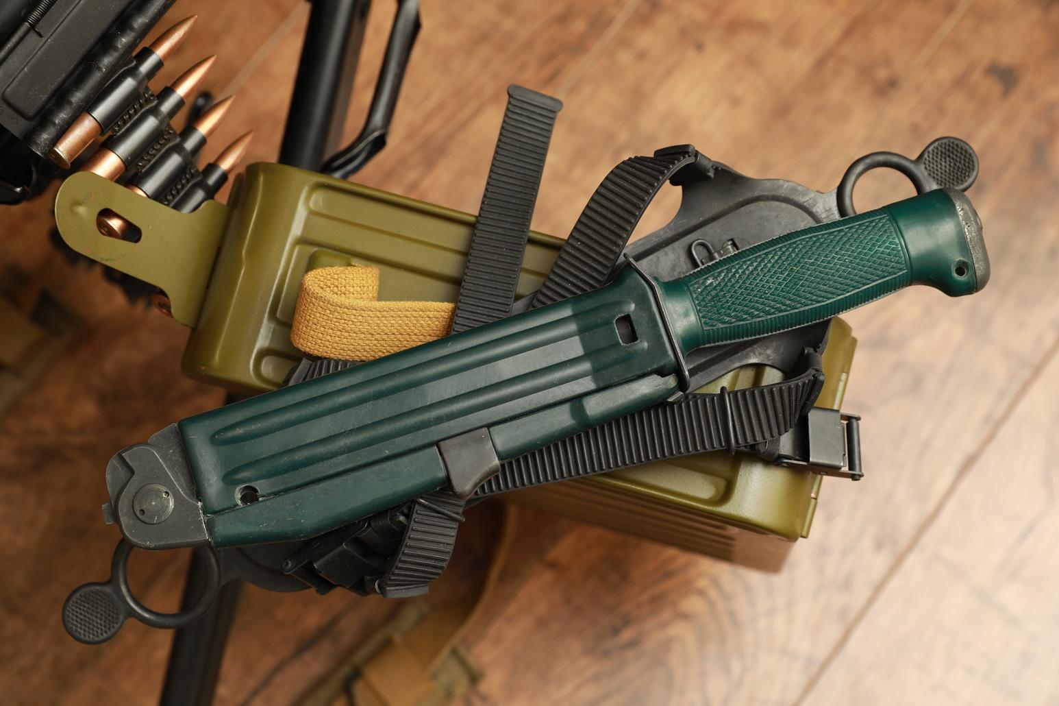 Нож разведчика НР-2, полный армейский комплект
