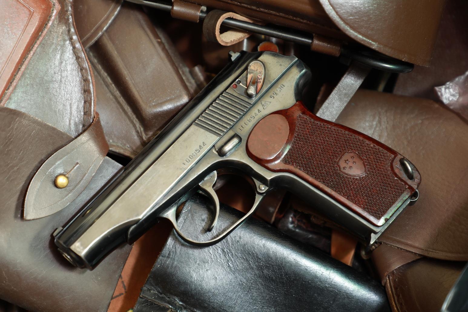 Фото Китайский пистолет Макарова Тип 59 №1008544, 1959 год