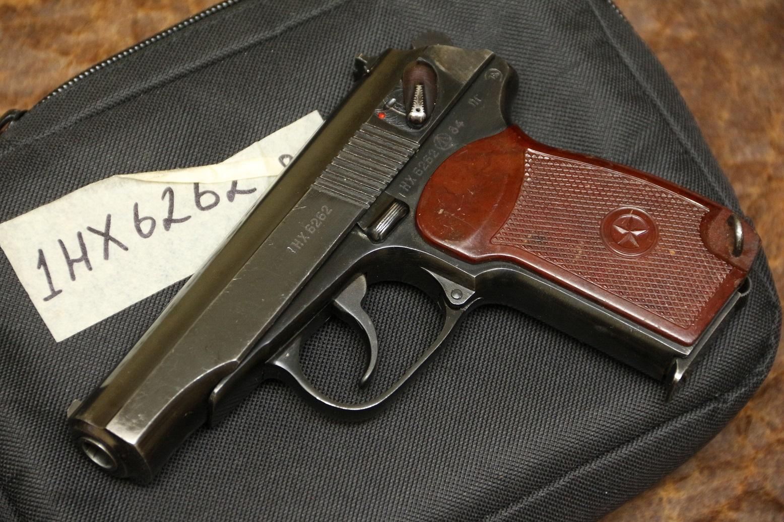Фото Охолощенный пистолет Макарова ПМ-СХ 1984 год №НХ6262, целая правая сторона