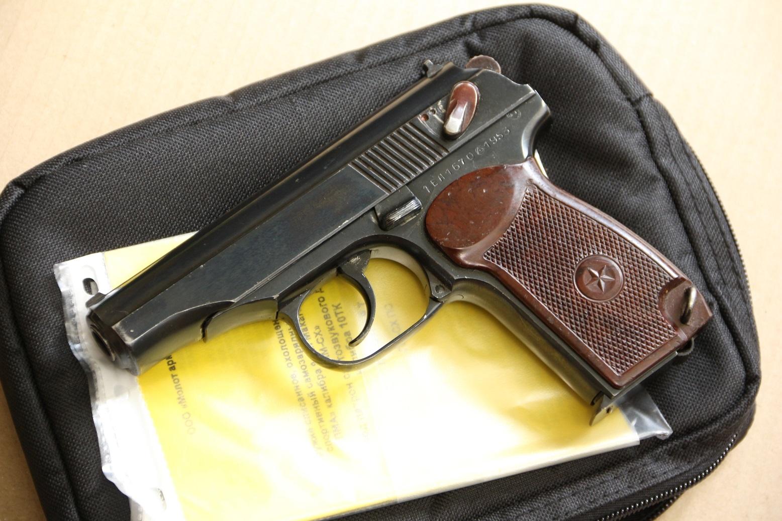 Фото Охолощенный пистолет Макарова ПМ-СХ 1953 года, №ЕА 1670, деактив 2020 года