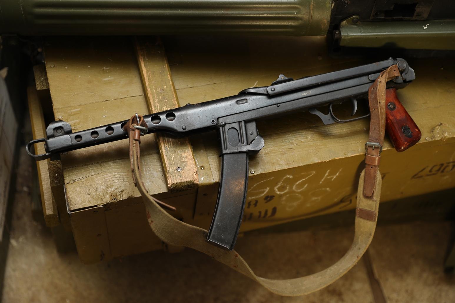 Фото Пистолет-пулемет ППС 1944 год, №ВА4161, Кулаковский блокадник