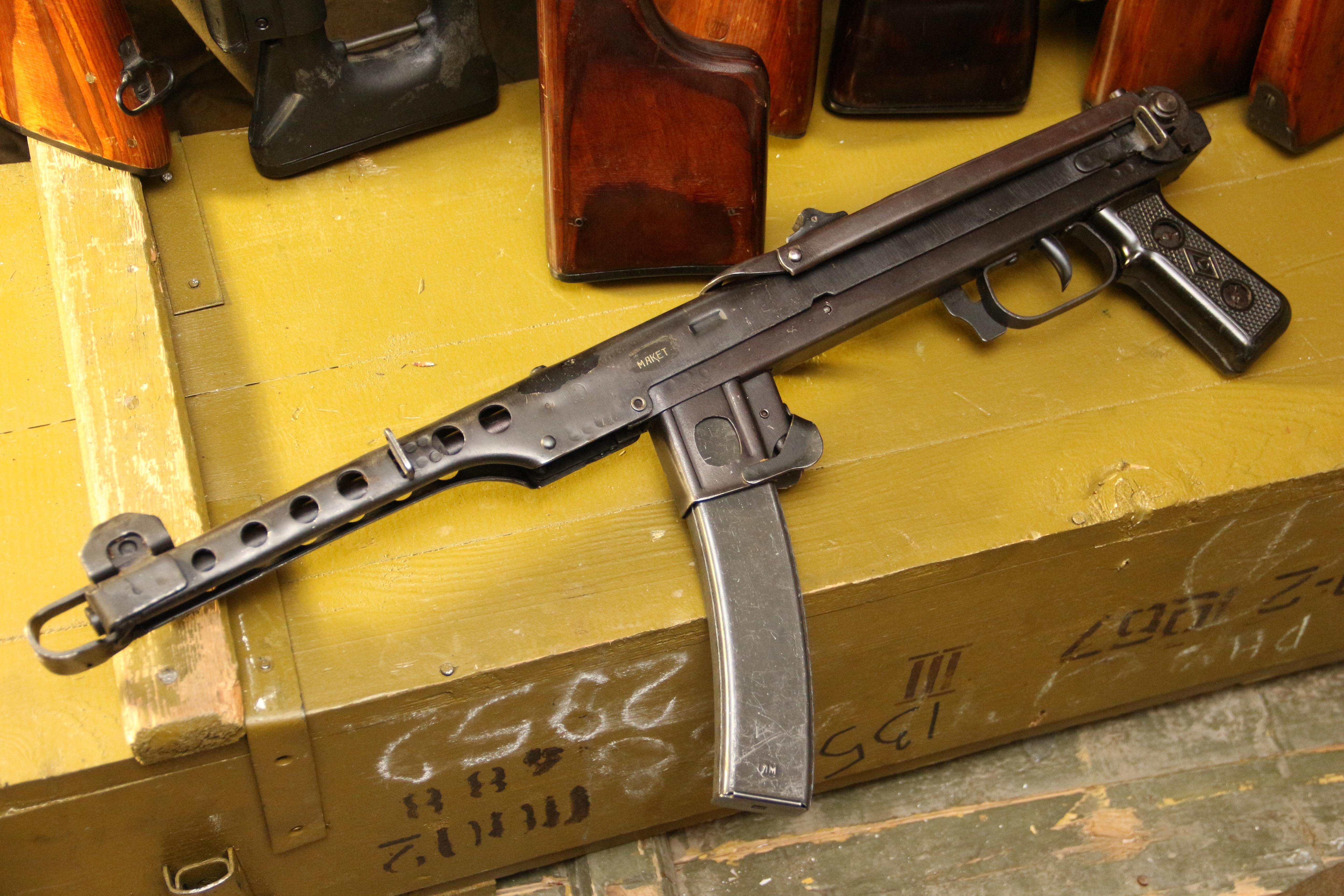 Фото Пистолет-пулемет ППС 1944 год, №АЯ341