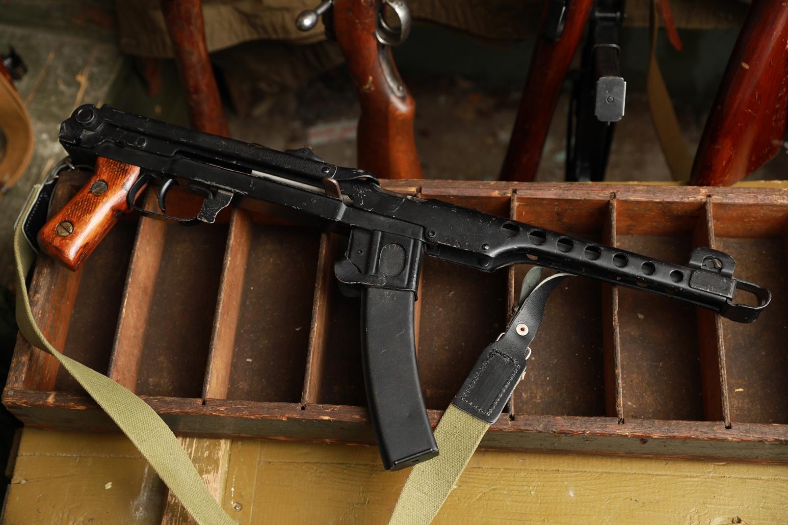 Фото Пистолет-пулемет ППС 1944 год, №АА403