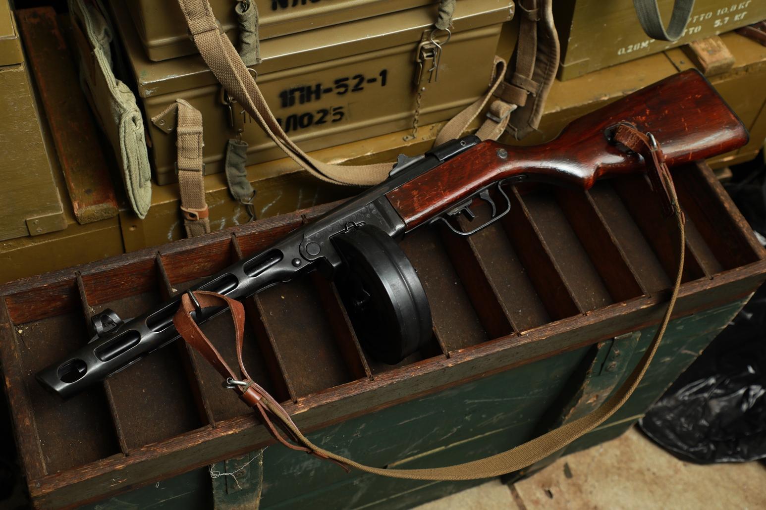 Фото Охолощенный ППШ-СХ 1944 года №ДК337