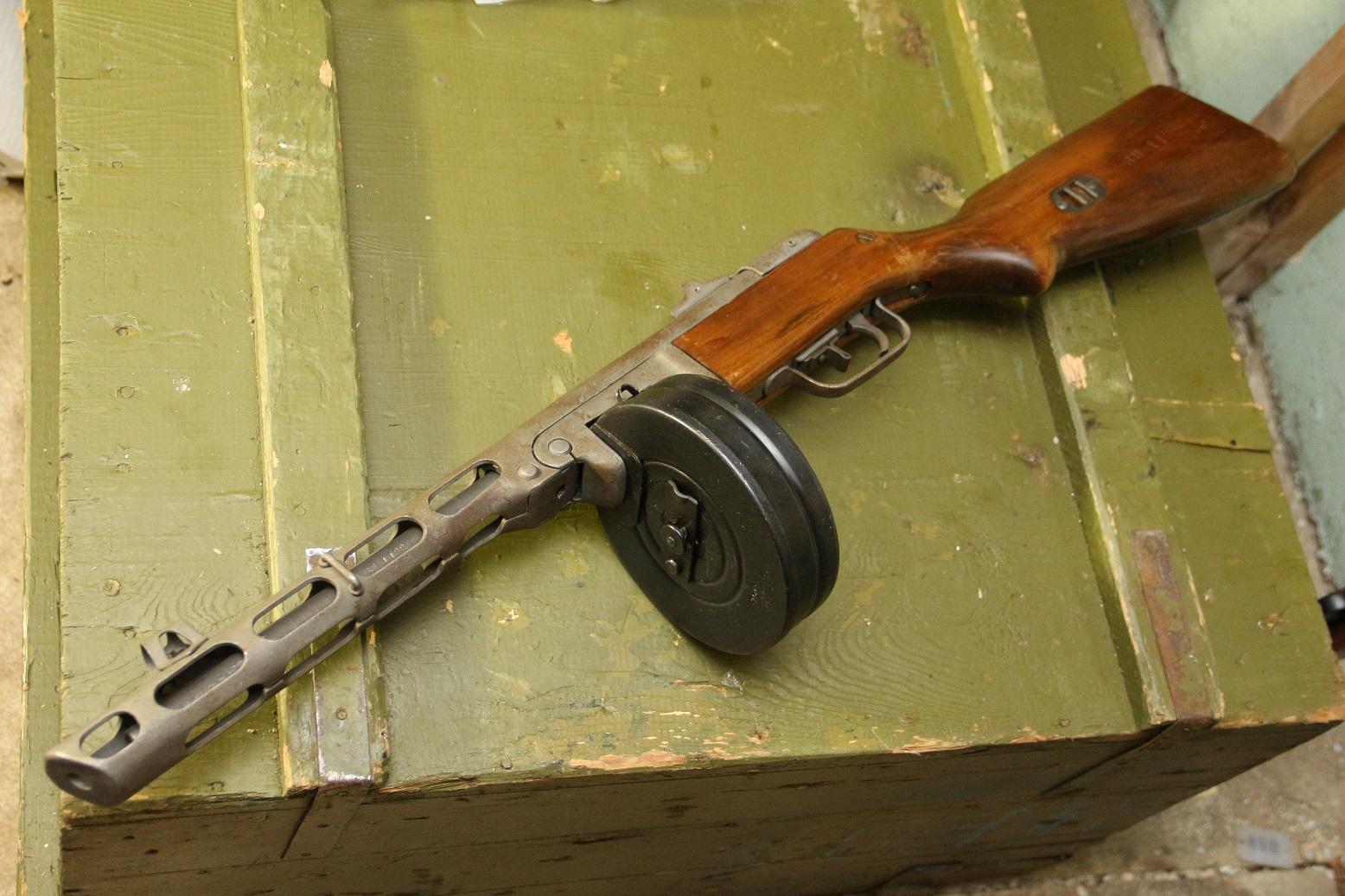 ППШ 1942 года, №ВН1122