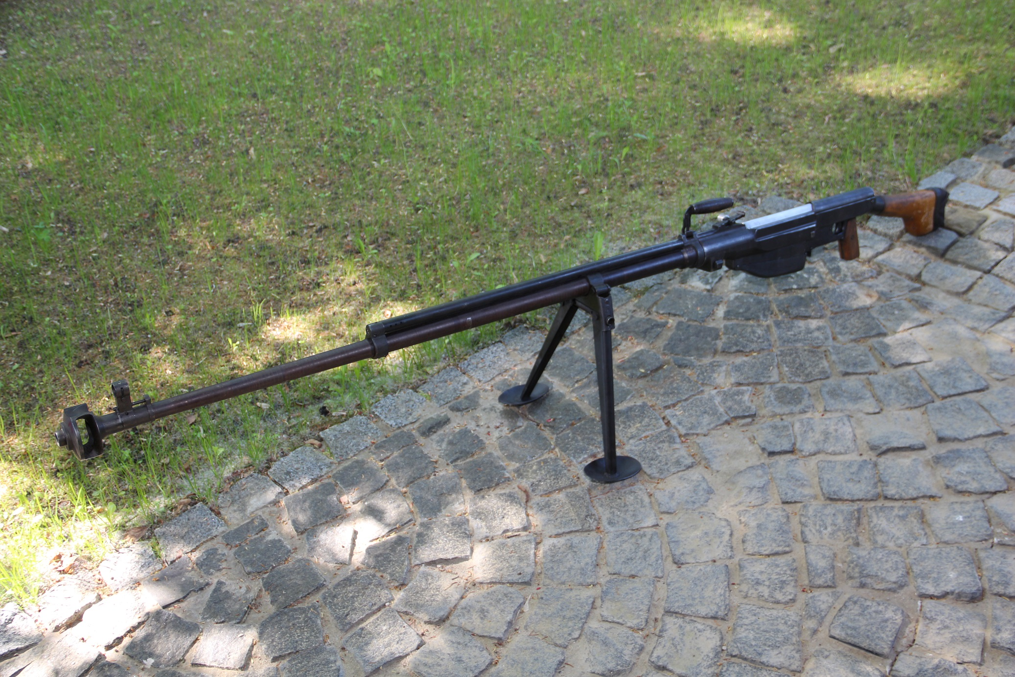Противотанковое ружье Симонова ПТРС, 1943 год, №ДР147