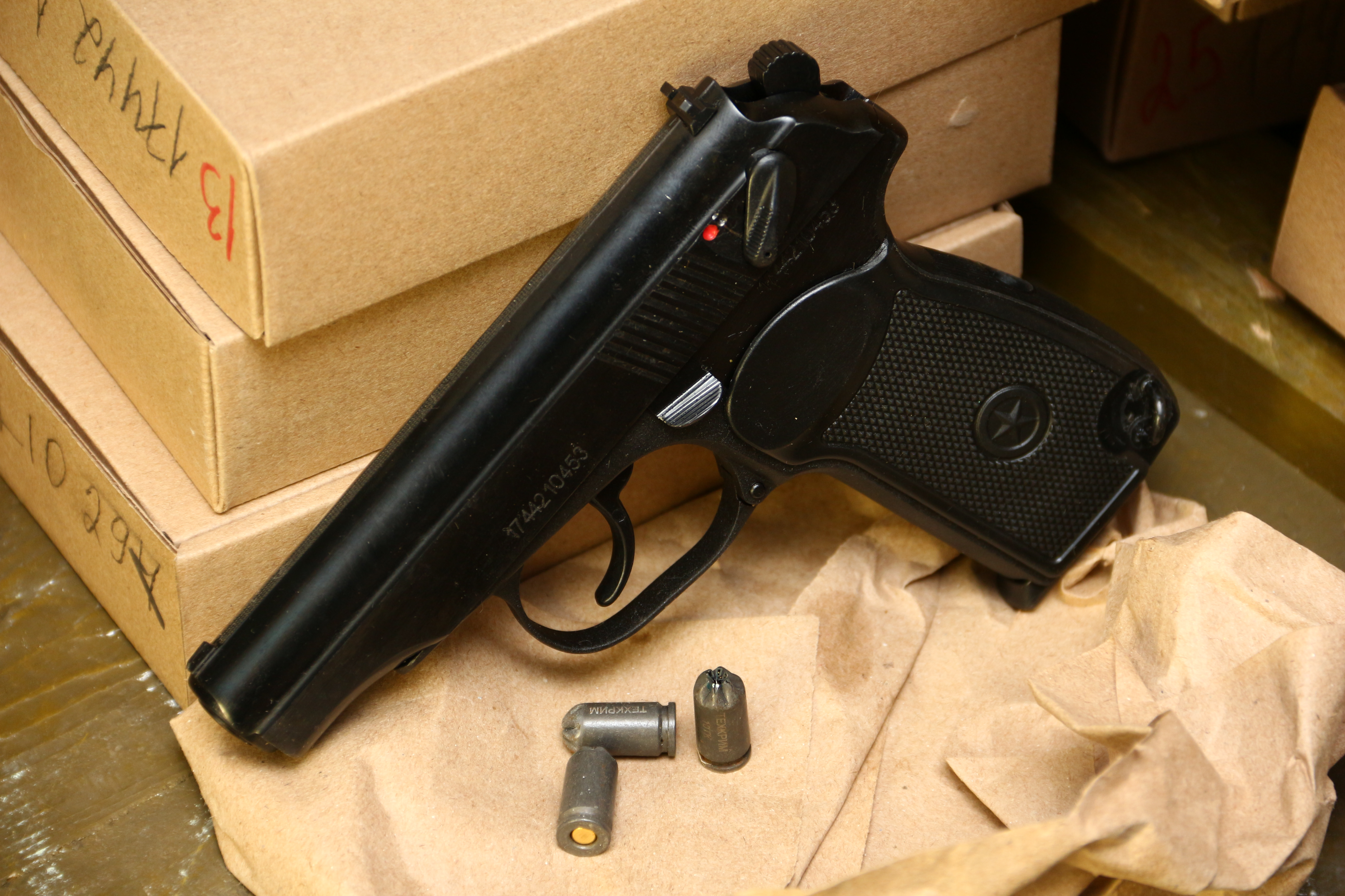 Фото Охолощенный пистолет Макарова «ПМ» Р-411 производства «Концерн Калашников»