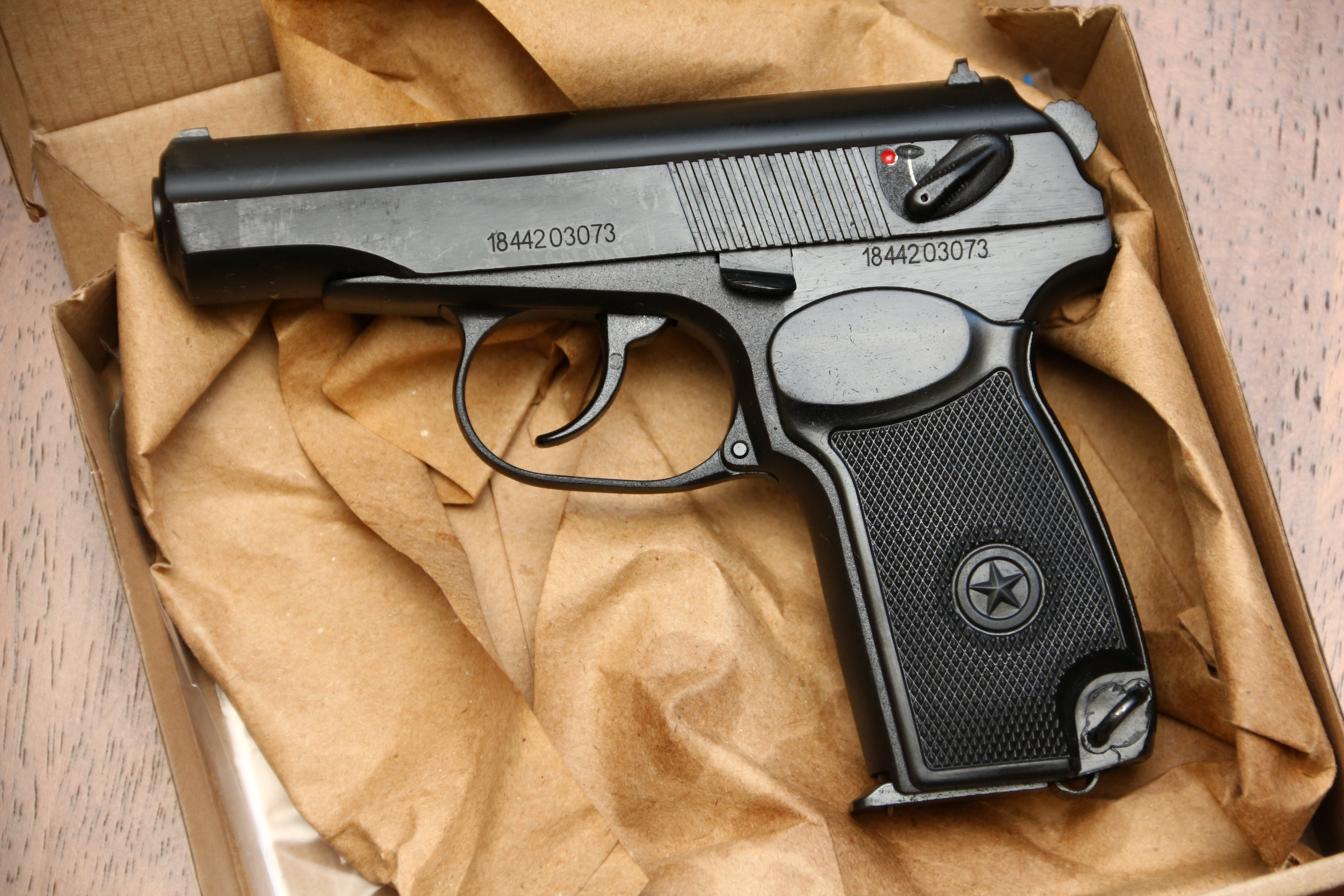 Фото Охолощенный пистолет Макарова Р-411 №1844203073