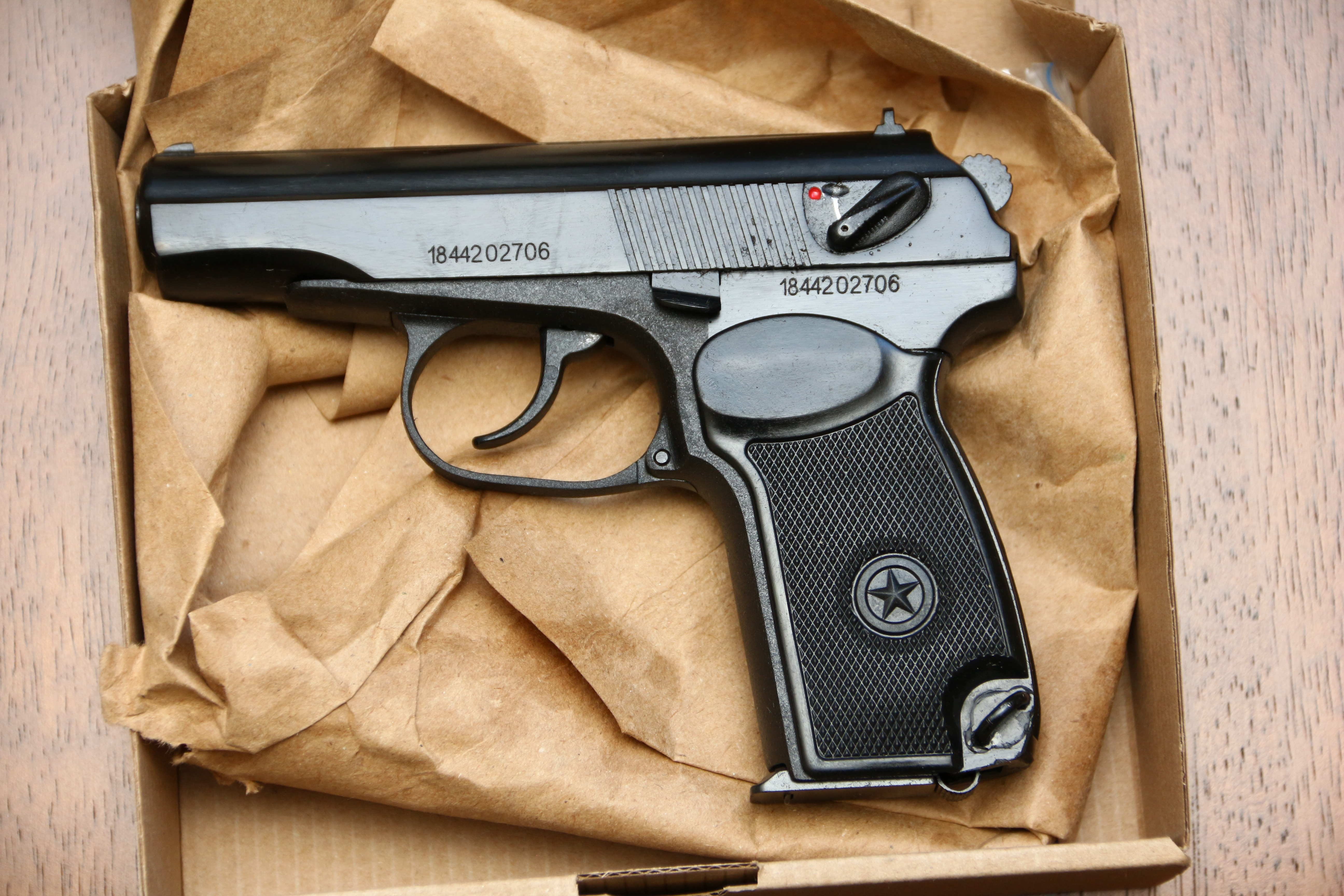 Охолощенный пистолет Макарова Р-411 №1844202706