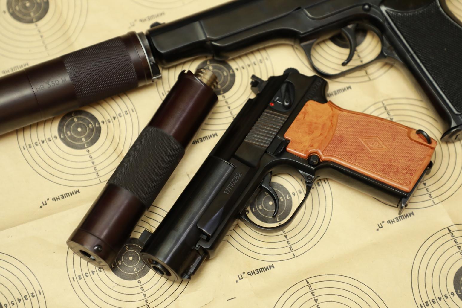 Охолощенный пистолет ПБ Р-413 №17П0282, современный выпуск