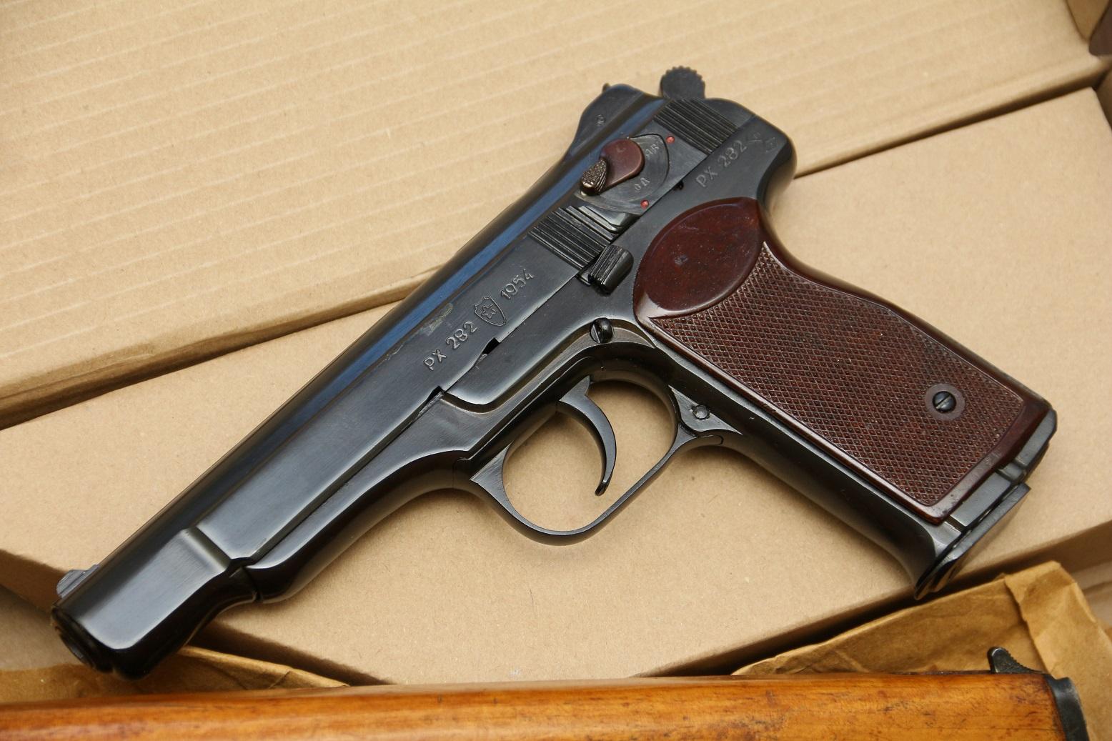 Охолощенный пистолет Стечкина 1954 год, №РХ282