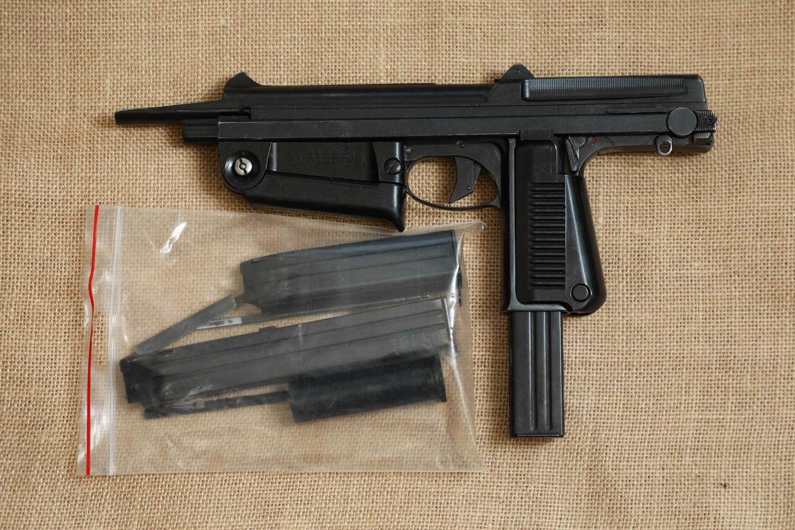 Фото Охолощенный пистолет-пулемет RAK-63 #МО 08438 1970 год, 1 категория