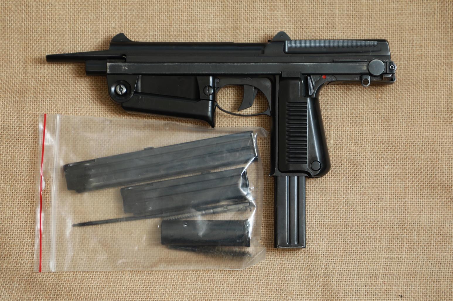 Фото Охолощенный пистолет-пулемет RAK-63 #АМ 03958 1968 год, 1 категория