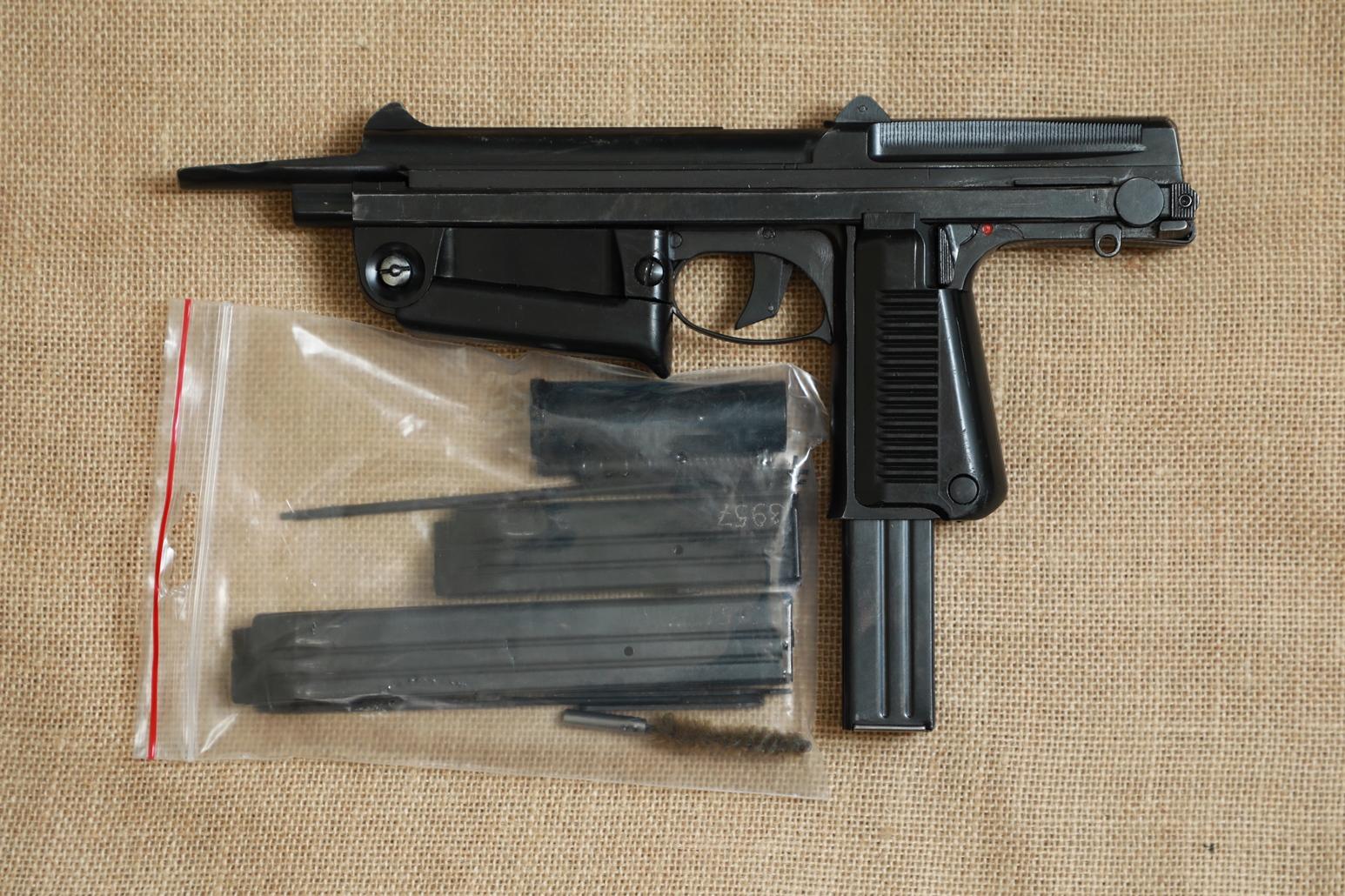 Фото Охолощенный пистолет-пулемет RAK-63 #ВМ 06249 1971 год, 1 категория