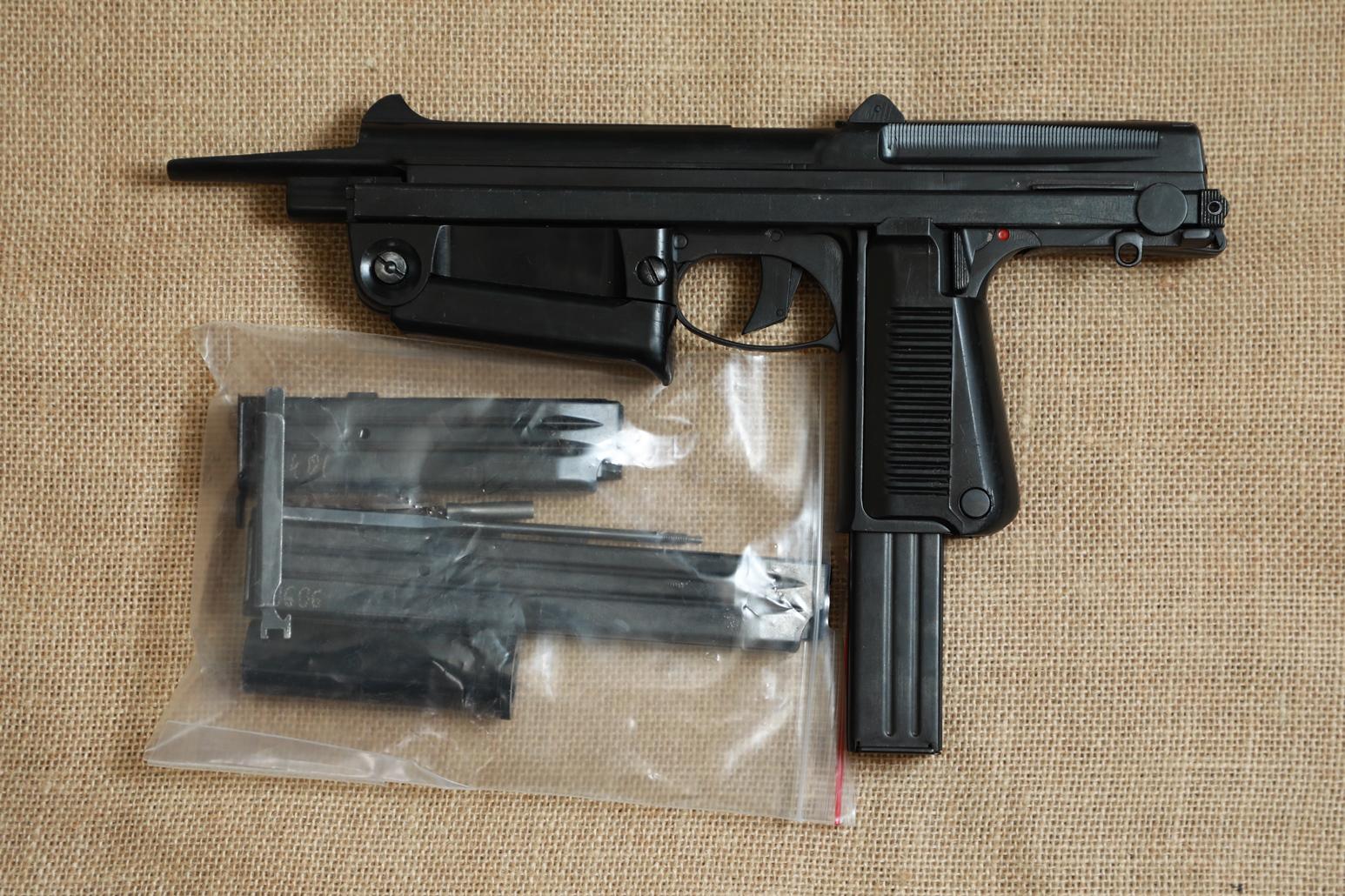 Фото Охолощенный пистолет-пулемет RAK-63 #DT 5677 1974 год, 1 категория