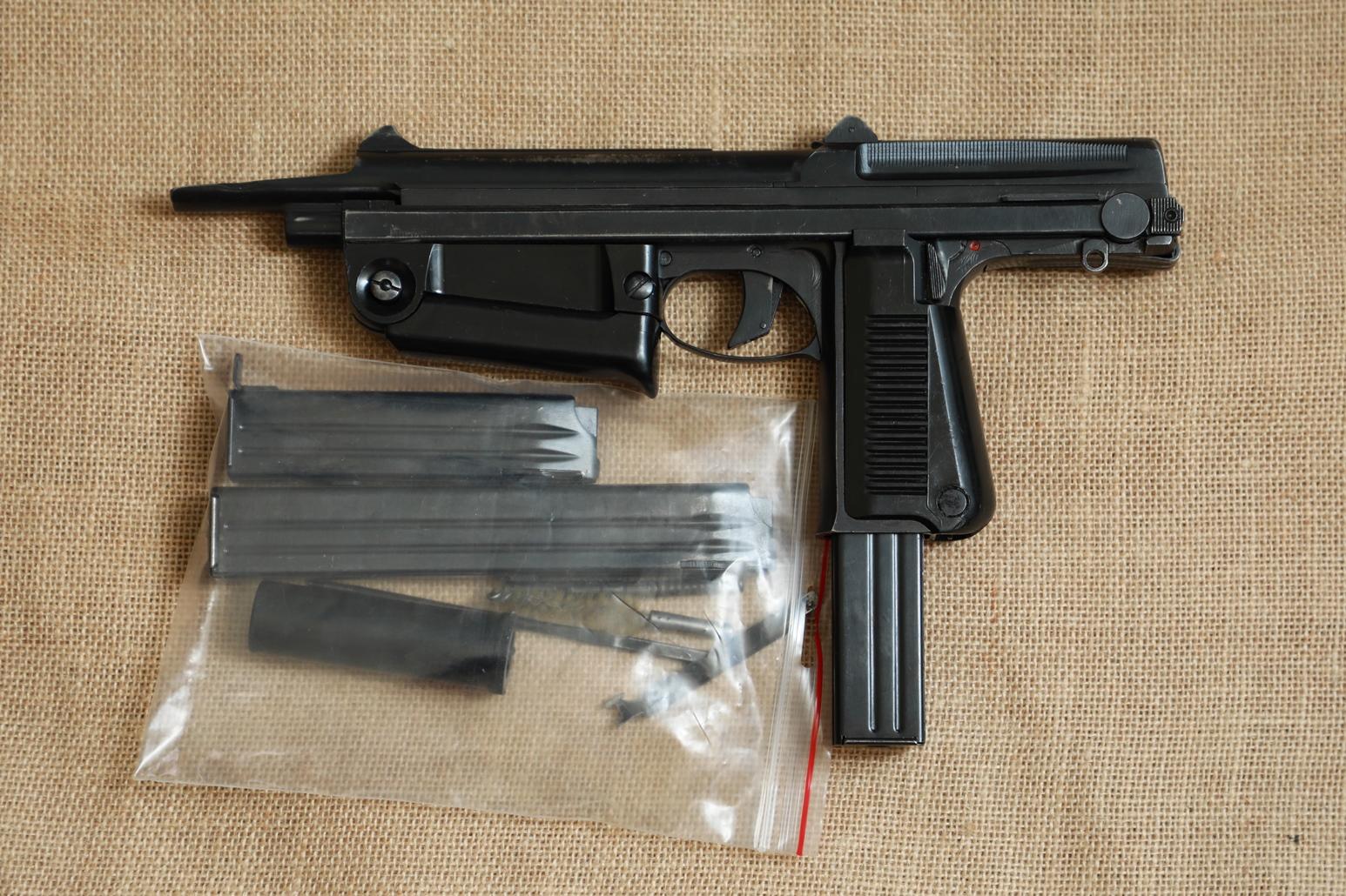 Фото Охолощенный пистолет-пулемет RAK-63 #BM 02478 1971 год, 1 категория