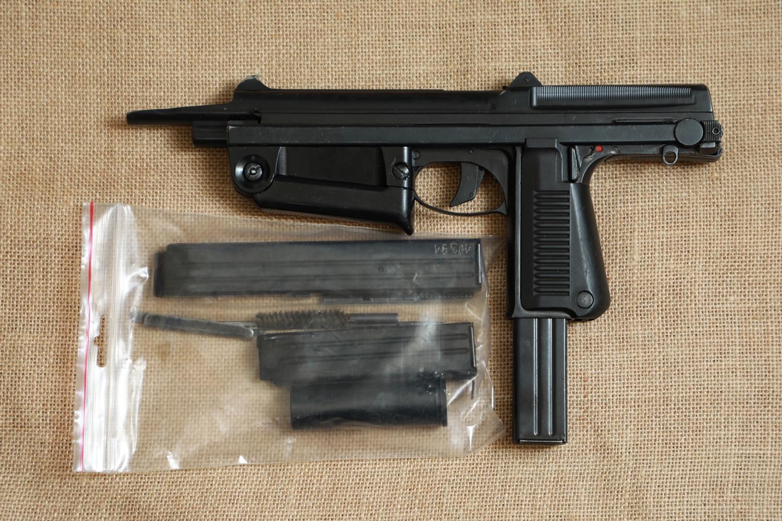 Охолощенный пистолет-пулемет RAK-63 #АМ 05621 1969 год, 1 категория