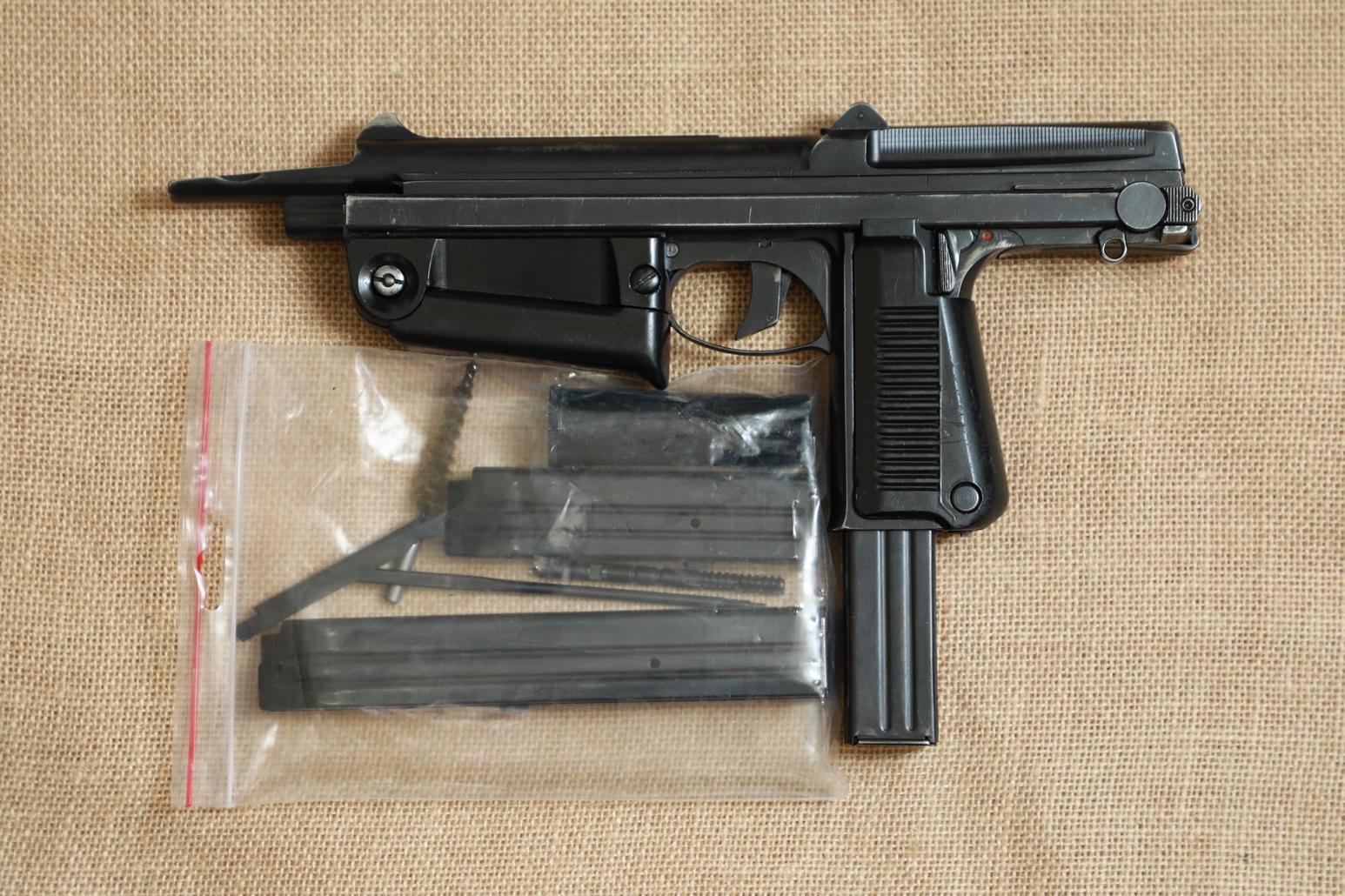 Охолощенный пистолет-пулемет RAK-63 #АМ 07471 1969 год